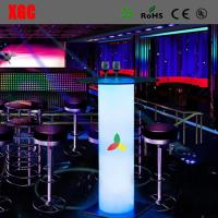 Buy cheap Remote Control 16 Colors Changing LED Bar Table Coffee Table Tea Table For Events Party Club Wedding Hotel Decoration from wholesalers