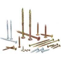 Cheap Heat Treatment Yellow White Zinc Chipboard Screws Partical Board Wood Screws For MDF for sale