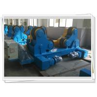 Cheap Self-aligned Pipe Turning Rolls Bed Tank Pipe Vessel Seam Welding , 80T wholesale