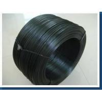 Cheap Soft black annealed wire , enameled iron wire good corrosion resistance wholesale