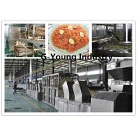 Buy cheap frying noodle machines Automatic Fried Instant Noodles Processing Line noodle from wholesalers