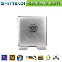 China 17W Intel Celeron Processor 1037U CPU HTPC Aluminum Alloy Case Barebone Fanless Mini Computer on sale