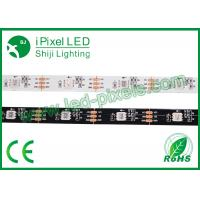 Cheap 30 & 60LEDs / M Individual Point Control Addressable LED Strip 12v SJ1211IC SMD5050 for sale