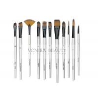 Cheap 11pcs Art Body Paint Brushes Set for Oil Painting / Craft , Nail , Face Paint for sale