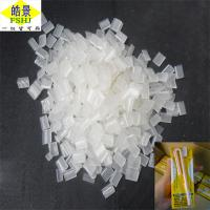 Cheap Pure Transparent Non Toxic Hot Melt Pellets For Beverages Straw wholesale