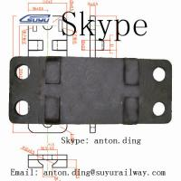 Buy cheap Tie plate /Base plate /Rail plate /Sole plate /Ribbed tie plate from wholesalers
