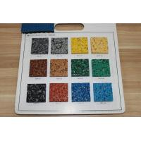 Fragmented Recycled Rubber Pellets Antibacterial Anti UV For Basketball Courts