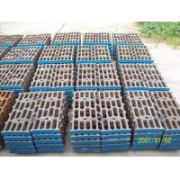 Better Toughness High Mn Steel Mill Liners Casting For Cement Mill / Coal Mill