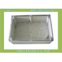 Cheap 240*160*120mm Water-resistant ABS case for PCB electronic circuit boards transparent lid for sale