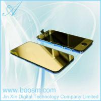 Cheap Gold Plating Mirror LCD Digitizer Back Housing Full Assembly For iPhone 4G for sale