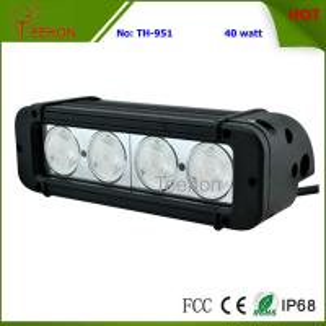 Cheap 40 Watt 8 Inch Single-Row CREE LED Light Bar SXS Light bar for 4X4 off-Road Vehicles for sale
