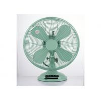 Quality Copper 3 Speed 12 Inch Vintage Electric Fan CE CB 35W 4 Blade For Home wholesale