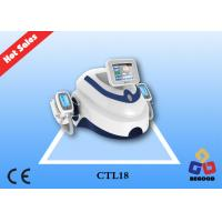 Cheap AC110V/220V Input Voltage Cryo Cellulite Body Contouring Machine With 8inch Touch Screen wholesale