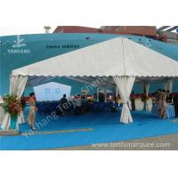Cheap Clear Span No Center Gable Pole Aluminum Alloy Frame Outdoor Event Tent wholesale