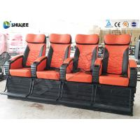 Cheap 4 Seat Per Set 4D Cinema Electronic Hydraulic Pneumatic Motion Rides For Theme Park for sale