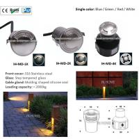 Cheap High Quality 316 Stainless Steel 3W Waterproof LED Four Face Emitting LED Underground Lights wholesale