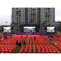Cheap SMD1921 Black Face Outdoor Led Screen Hire , High Contrast Led Rental Display for sale