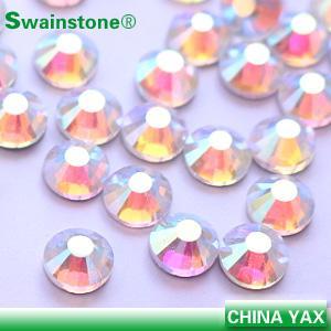 China China swainstone rhinestone color chart crystal stone, flat back crystal stone, wholesale crystal stone for garment on sale