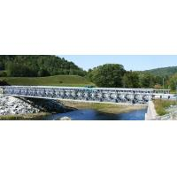 Cheap Steel Structure Temporary Bridge Construction / Pre Engineered Pedestrian Bridges for sale