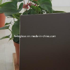 Cheap 5mm Coffee Silkscreen Glass (CSG-141) for sale