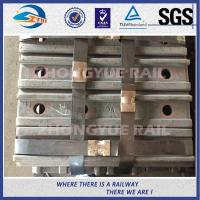 Quality BS80A ASTM and DIN Railroad Joint Bars Railway Fish Plate With 4 Hole , 6 Hole wholesale