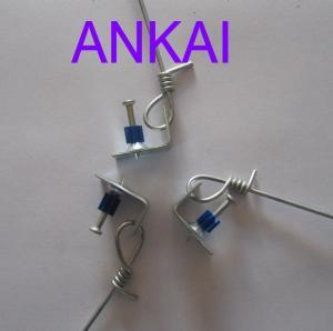 China Pre-Tied Galvanized Hanger Wire,Galvanized hanger wire also known as ceiling hanger wire, hanger wire, pre-tied hanger on sale