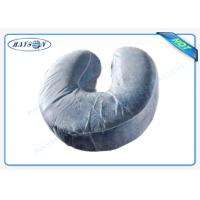 China U - shaped Disposable Pillow Slip Comfortable Neck Guard Non woven Pillow Cover on sale