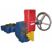 Cheap Grey DN100,PN10 wafter type electric UPVC butterfly valves for sale