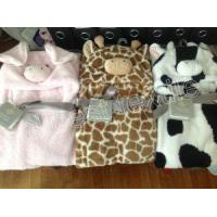 Cheap Baby Blanket with Hooded for sale