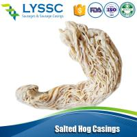 Cheap New Arrival All different Calibers Natural Salted Hog Casings for Sausage Sale 38/40 for sale