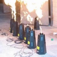 Cheap Stage Special Effect Normal Fire Machine with DMX Address, Widely Used in TV Show and Concert for sale