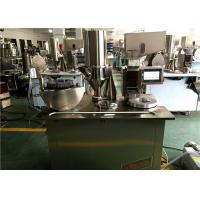 Cheap PLC Control System Semi Auto Capsule Filling Machine For Small Business for sale