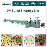Cheap Automatic Pet Food Extruder various mold shape stainless steel biscuit production line for sale