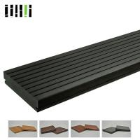 Cheap Commercial Grade Bamboo Laminate Flooring , Outdoor Hardwood Decking Boards for sale