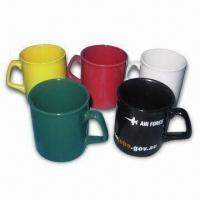 Cheap Ceramic Mugs, Customized Logos are Welcome, Food Grade, Dishwasher and Microwave Safe for sale