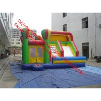 Cheap Inflatable Slide & Obstacle Course Combo     for sale