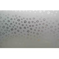Cheap High Strength Tempered Frosted Glass , Flat Acid Etched Glass Sheet for sale