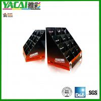 China Custom POP Promotional gift paper Cardboard Counter Displays trays for retailing on sale
