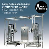 Cheap Double-head BID Aseptic Filling Machine 220L Bag in Drum Aseptic Filler for sale