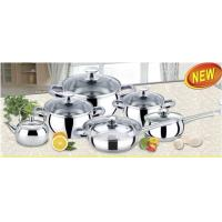 China Restaurant Stainless Steel Cookware Sets with SS # 201 for Induction Cooker on sale