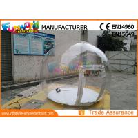 Cheap Igloo Inflatable Clear Bubble Tent / Inflatable Transparent Tent for sale
