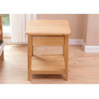 Cheap Solid Cherry Small Wooden Side Table , Home Narrow Sofa Pedestal Pine Side Table for sale