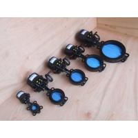Quality Wafer Electric Butterfly Valve , DN50 DN65 DN80 Electrically Operated Butterfly wholesale