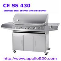 Cheap 6-burner SS BBQ for sale