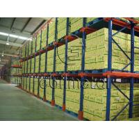 China High Density Pallet Storage Drive In Pallet Racking Corrosion Protection on sale
