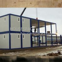 China Light Steel Structure Mobile Office Containers For Dining Room House on sale