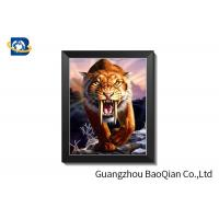 China Full Color Custom Lenticular Pictures Framed 3D Poster 0.2 Mm To 5.0mm Thickness on sale