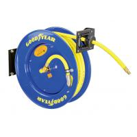 Cheap Goodyear 3/8-Inch 500 Feet Steel Hose Reel with Swivel Arm and Mounting Bracket 300PSI for sale