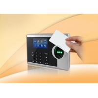 Buy cheap Network / Standalone Biometric Time Attendance System Support ID Card Reader from wholesalers