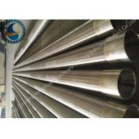 Cheap SS Johnson Wire Screen Tube / Welded Wedge Wire Screen ISO Listed for sale